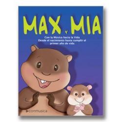 Max y Mía- Con la música hacia la vida (Incluye CD)