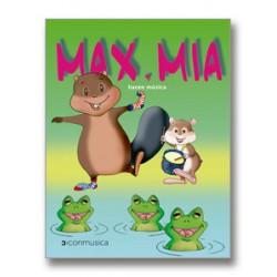 Max y Mía hacen música (incluye 2 CDSs)