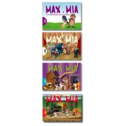 Max y Mia en  el maravillo país de la música