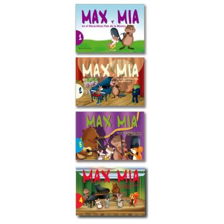 Max y Mia en  el maravillos país de la música