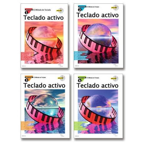 Teclado Activo – El método de teclado (Volumen 1 a 4)