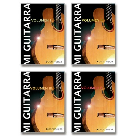 Mi Guitarra (Volumen 1 a 4)