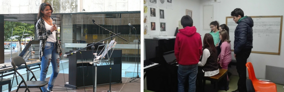 extraescolares de música para niños
